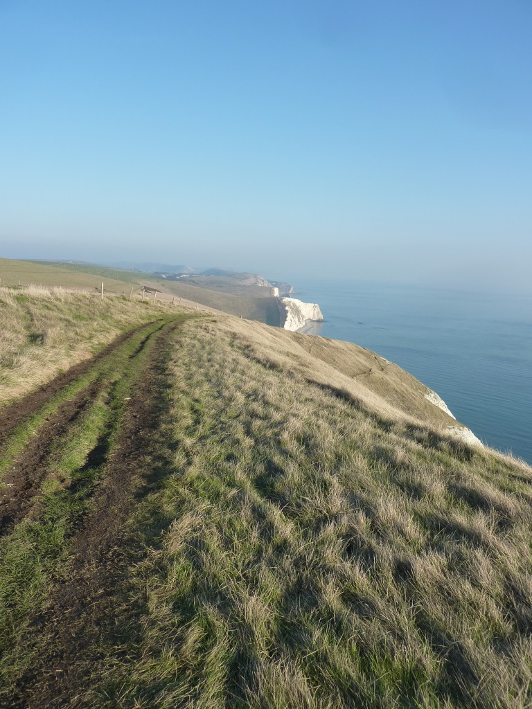 The ups and downs of the South West Coast Path