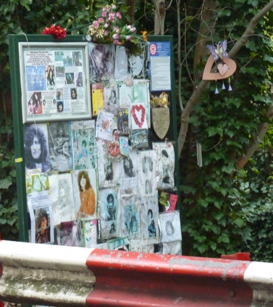 Marc Bolan shrine