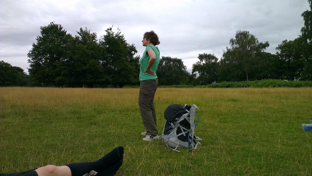 Liz in Richmond Park